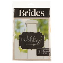 BRIDES Hanging Chalkboard Sign